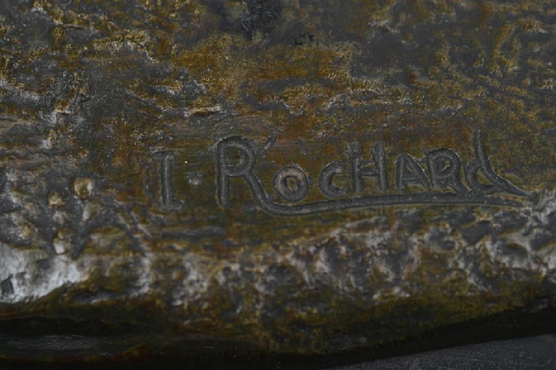 """IRENE ROCHARD: """"TWO DEERS"""" - 2"""