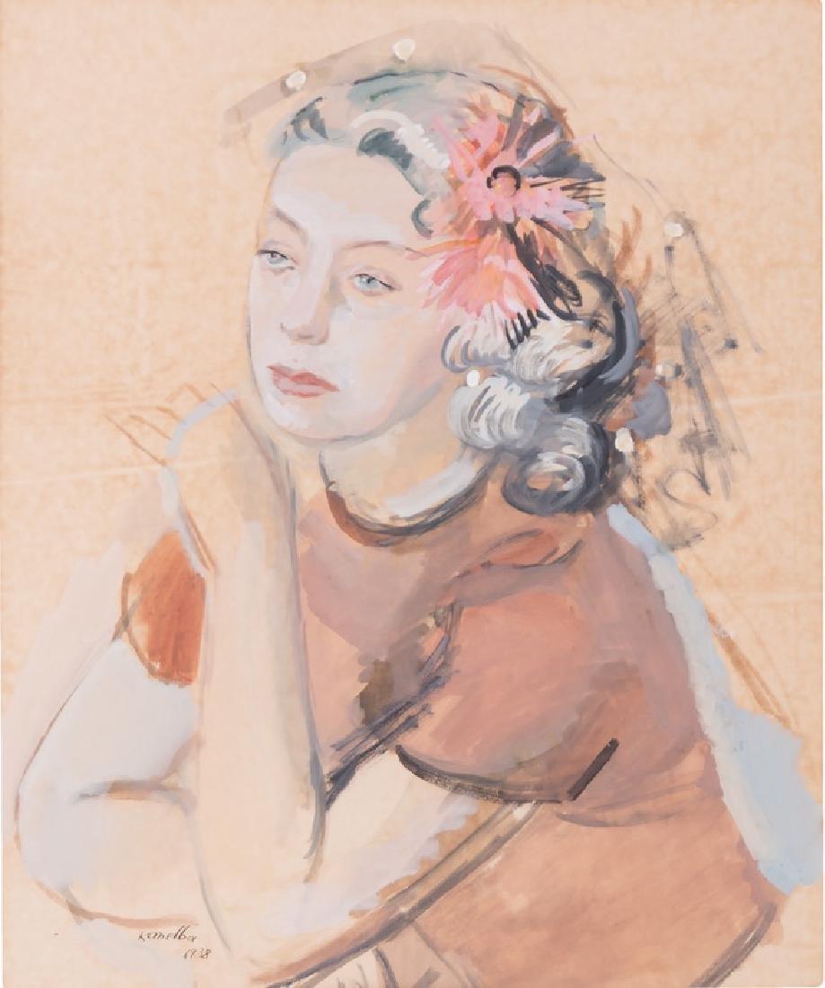 "RAYMOND KANELBA: ""PORTRAIT OF A WOMAN"""