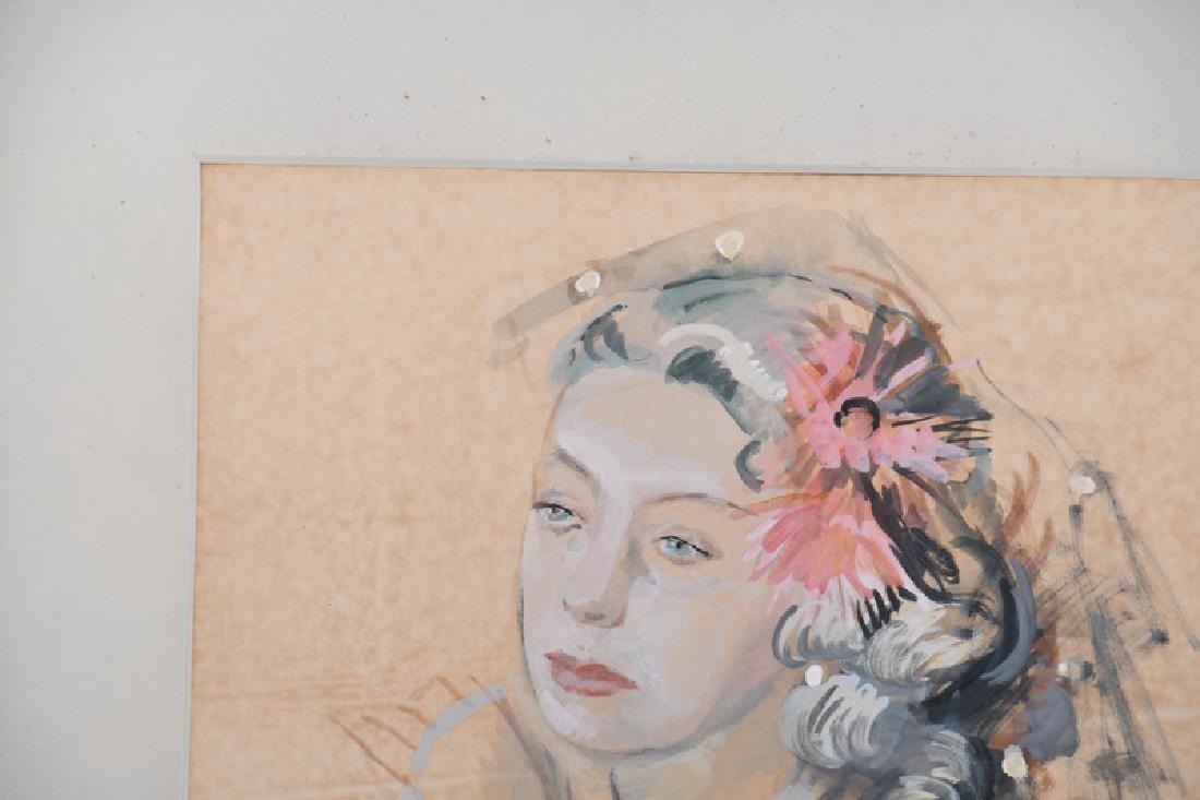 "RAYMOND KANELBA: ""PORTRAIT OF A WOMAN"" - 2"