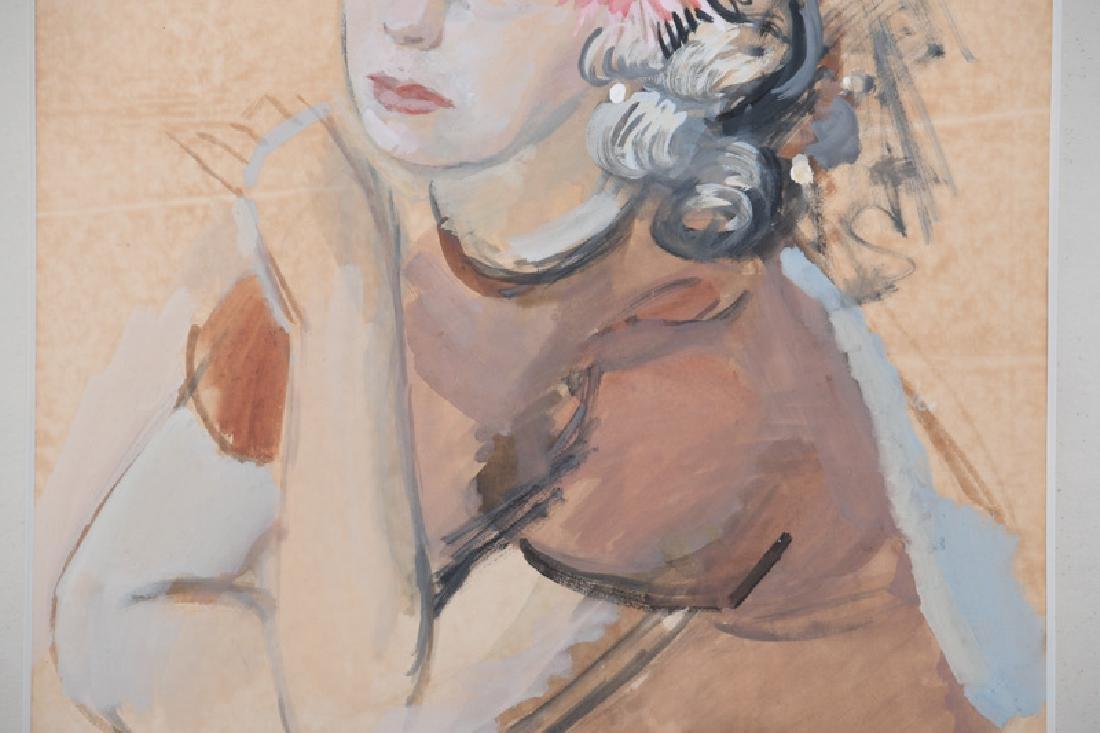 "RAYMOND KANELBA: ""PORTRAIT OF A WOMAN"" - 3"