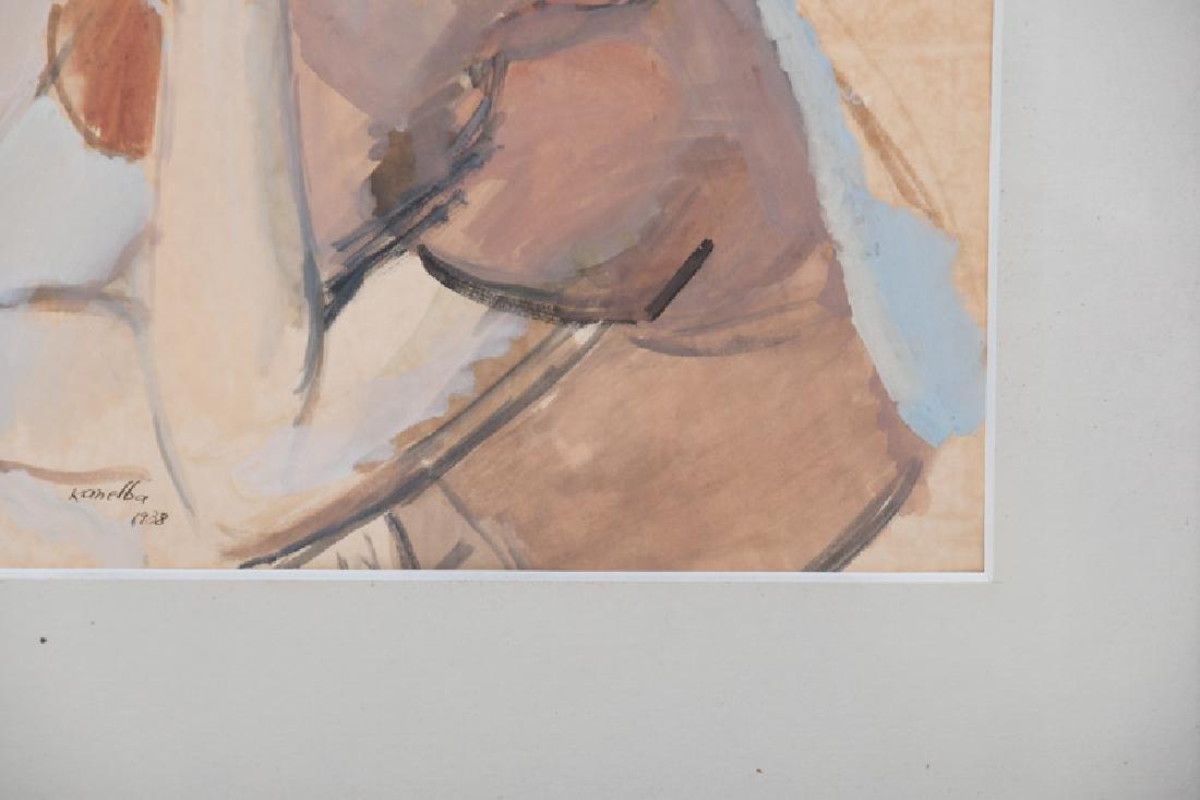 "RAYMOND KANELBA: ""PORTRAIT OF A WOMAN"" - 4"
