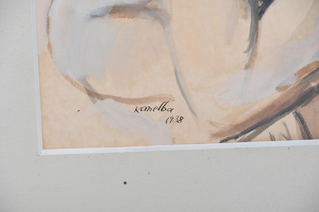 "RAYMOND KANELBA: ""PORTRAIT OF A WOMAN"" - 5"