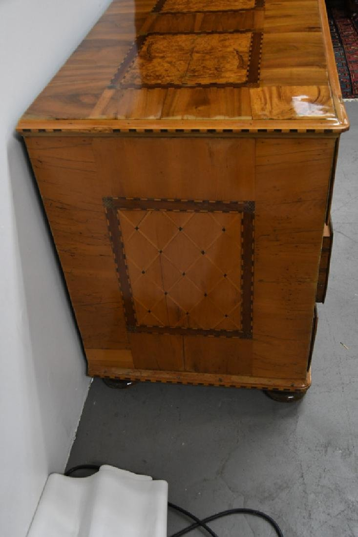 GERMAN PARQUETRY COMMODE - 8