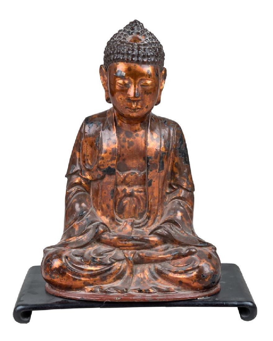 VIETNAMESE LACQUERED BUDDHA