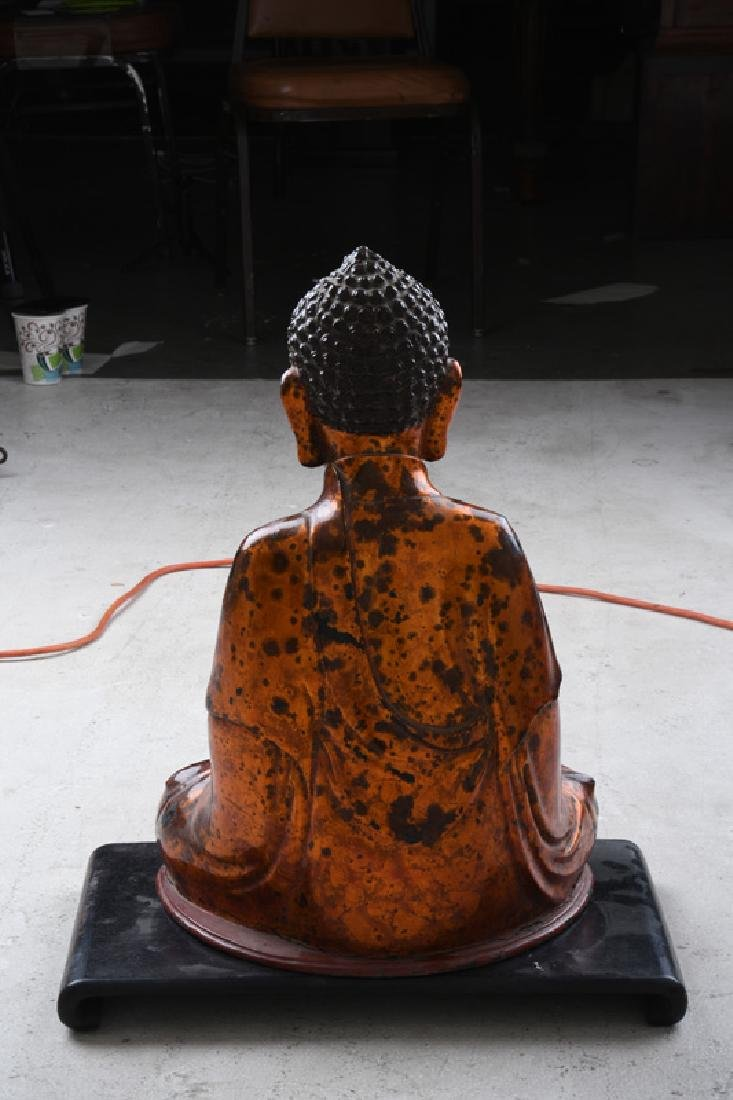 VIETNAMESE LACQUERED BUDDHA - 4