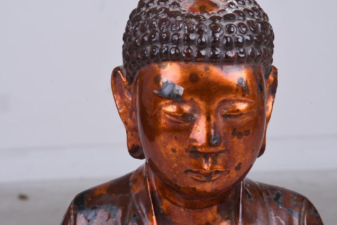 VIETNAMESE LACQUERED BUDDHA - 5