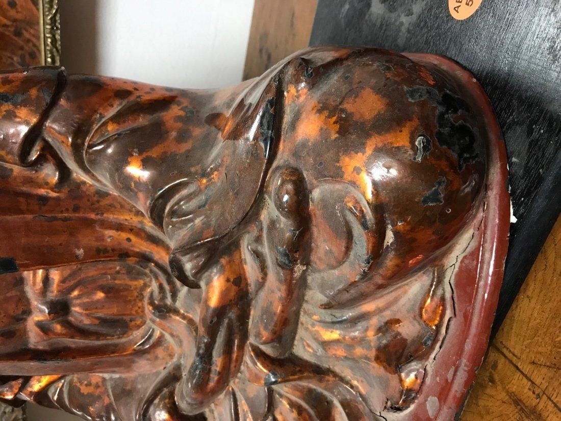 VIETNAMESE LACQUERED BUDDHA - 9