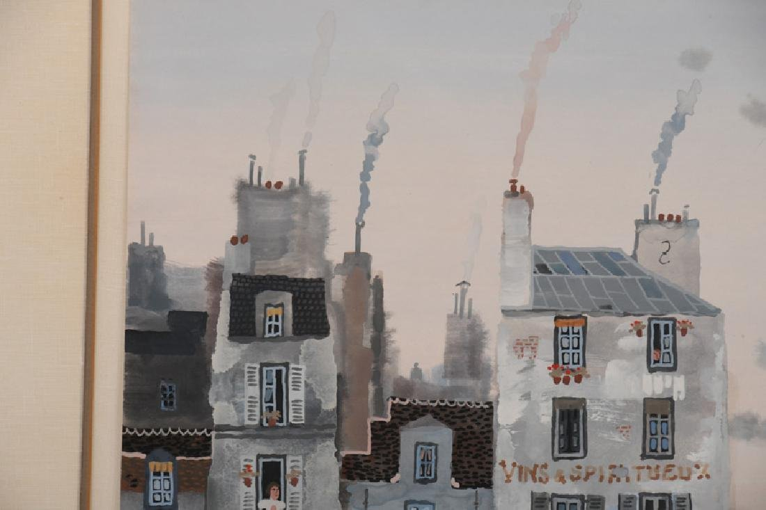 "MICHEL DELACROIX: ""PARISIAN STREET SCENE"" - 2"