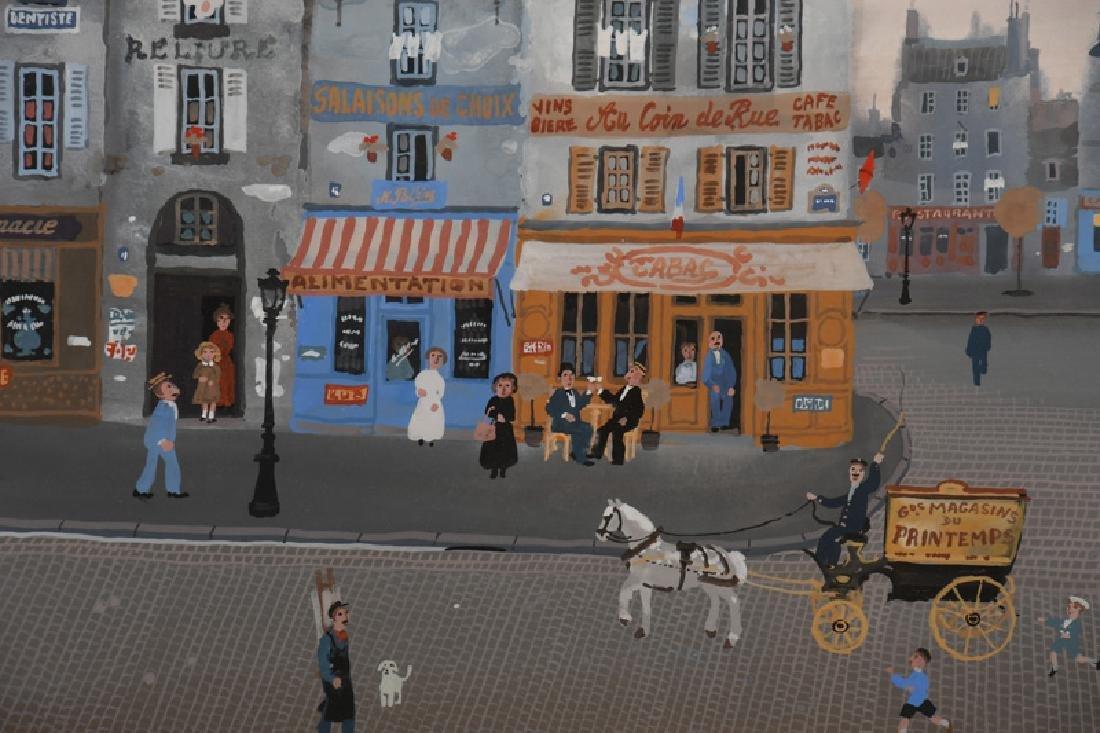 "MICHEL DELACROIX: ""PARISIAN STREET SCENE"" - 3"