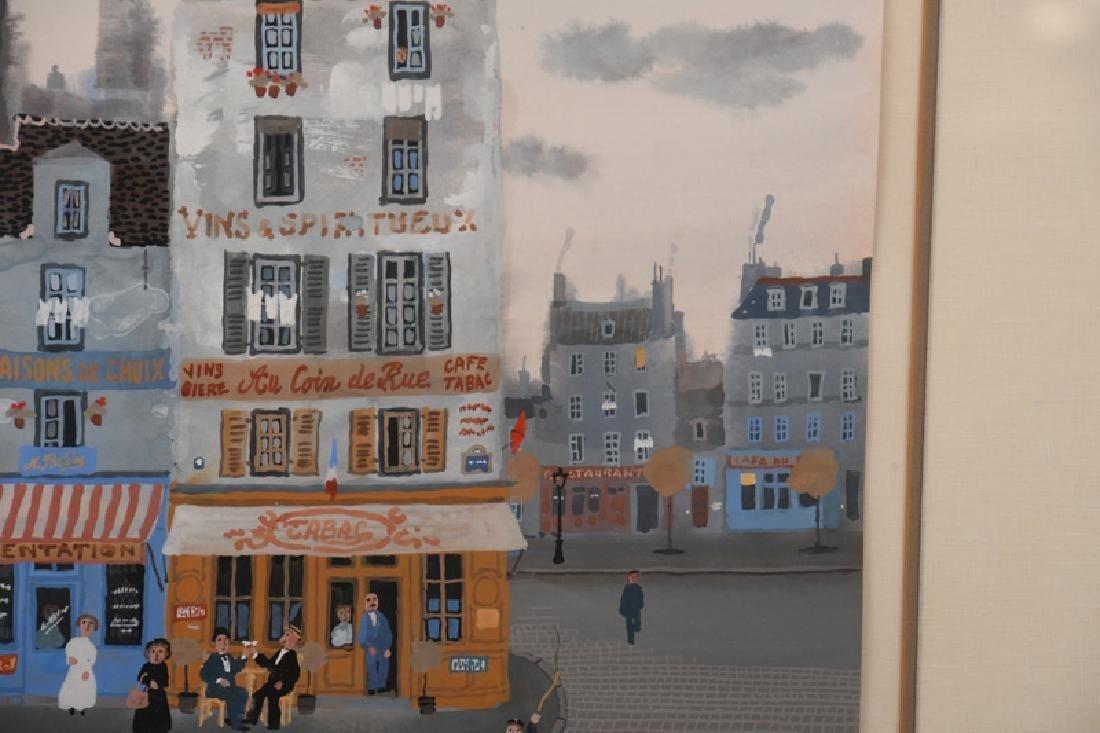 "MICHEL DELACROIX: ""PARISIAN STREET SCENE"" - 4"