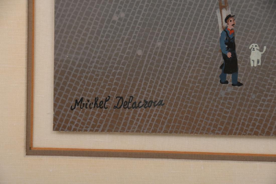 "MICHEL DELACROIX: ""PARISIAN STREET SCENE"" - 5"