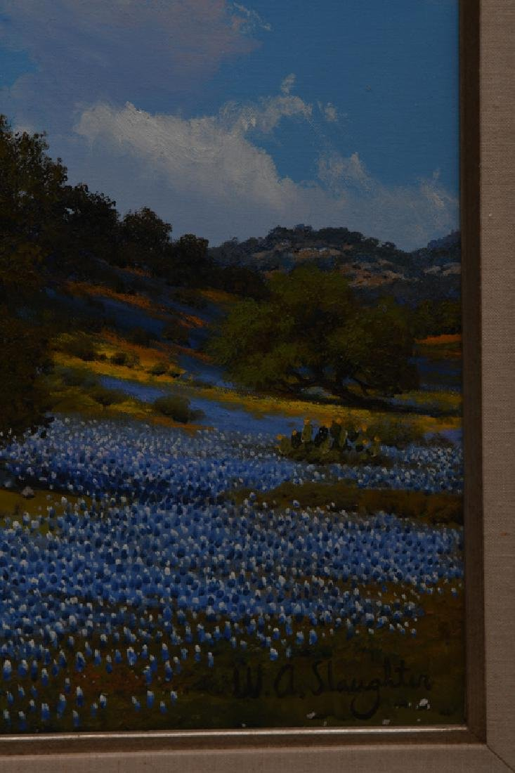 """WILLIAM SLAUGHTER: """"ROLLING HILLS OF BLUEBONNETS"""" - 3"""