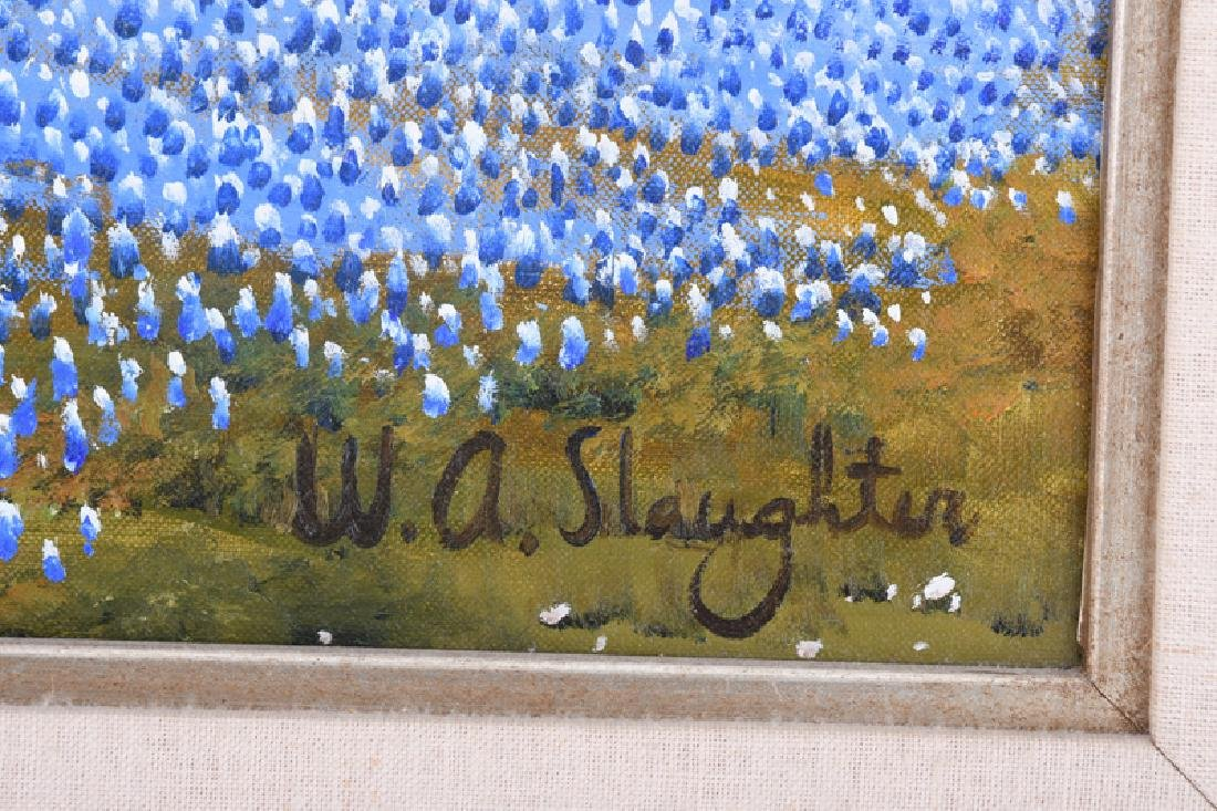 """WILLIAM SLAUGHTER: """"ROLLING HILLS OF BLUEBONNETS"""" - 5"""