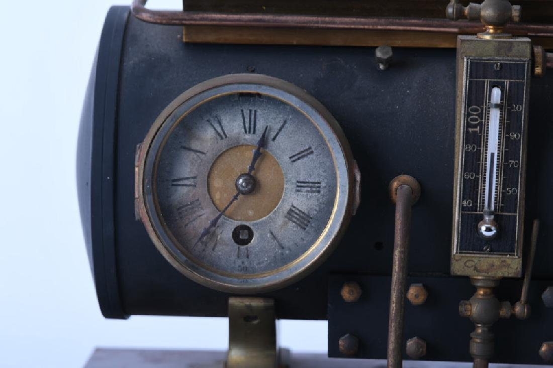 FRENCH INDUSTRIAL BOILER CLOCK - 6