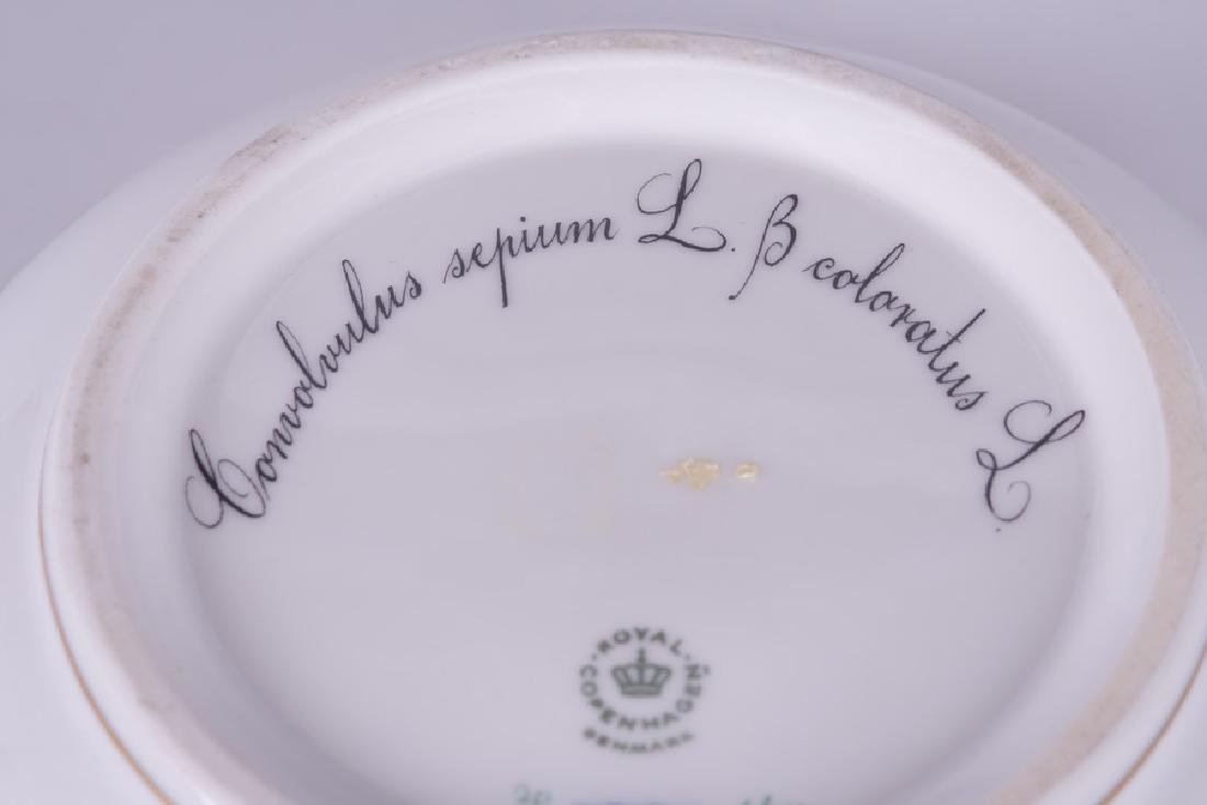"ROYAL COPENHAGEN ""FLORA DANICA"" PORCELAIN SERVING BOWL - 7"