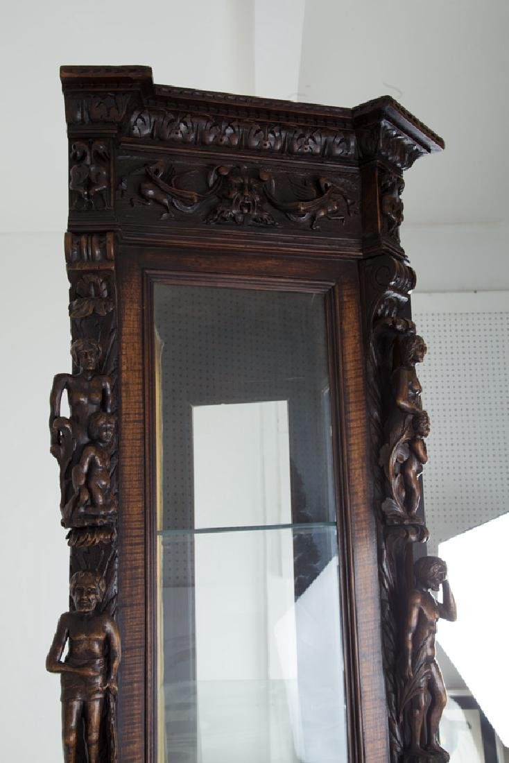 NORTHERN ITALIAN CARVED WALNUT CABINET - 6