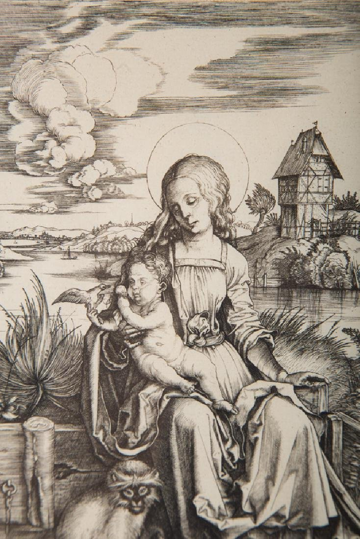 "AFTER ALBRECHT DURER: ""VIRGIN & CHILD WITH THE MONKEY"" - 4"