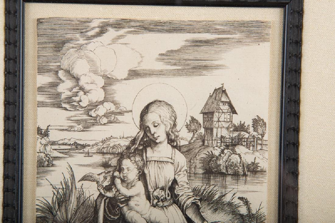 "AFTER ALBRECHT DURER: ""VIRGIN & CHILD WITH THE MONKEY"" - 6"