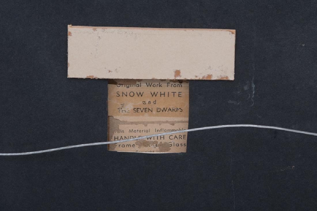 SNOW WHITE & THE SEVEN DWARFS PRODUCTION CEL: 'DOPEY & - 5