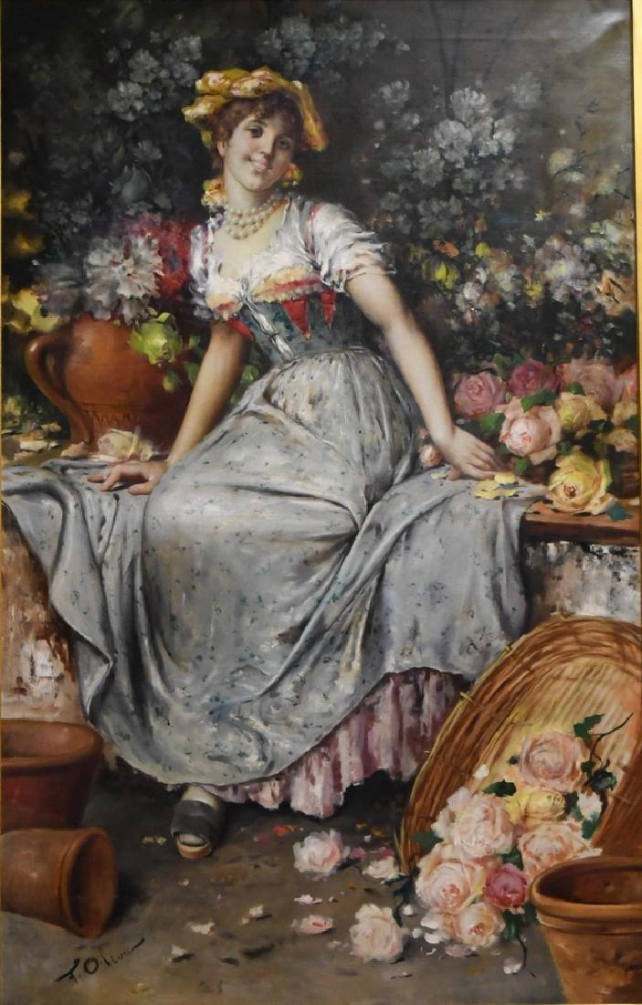 """FRANCESCO OLIVA: """"PORTRAIT OF A GIRL"""""""