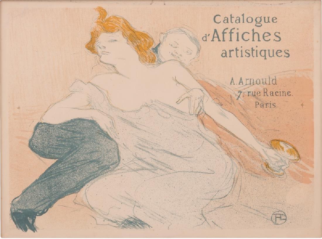 """HENRI DE TOULOUSE-LAUTREC: """"DEBAUCHE DEUXIEME PLANCHE)"""""""