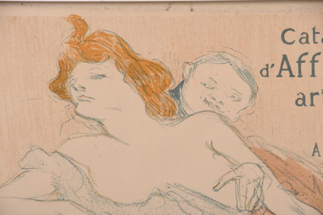 """HENRI DE TOULOUSE-LAUTREC: """"DEBAUCHE DEUXIEME PLANCHE)"""" - 2"""