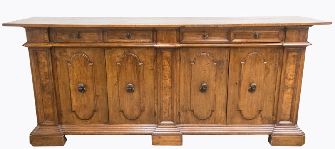 ITALIAN WALNUT SIDEBOARD