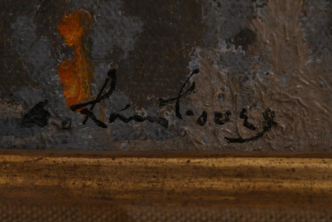"ANDRE HAMBOURG: ""LE SOIR A HONFLEUR"" - 6"