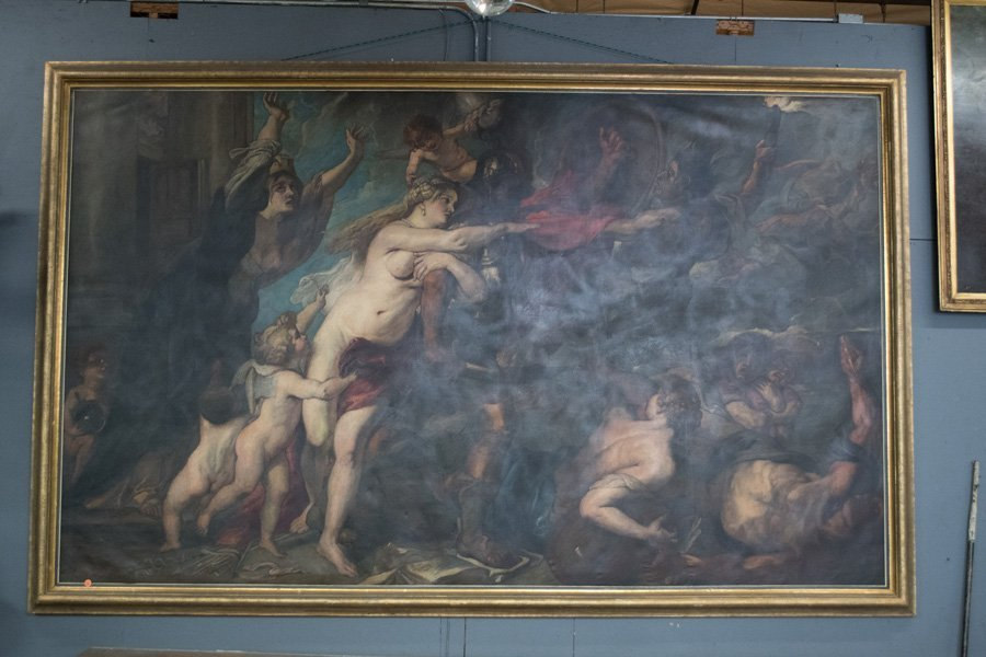 "AFTER PETER PAUL RUBENS: ""CONSEQUENCES OF WAR"" - 10"