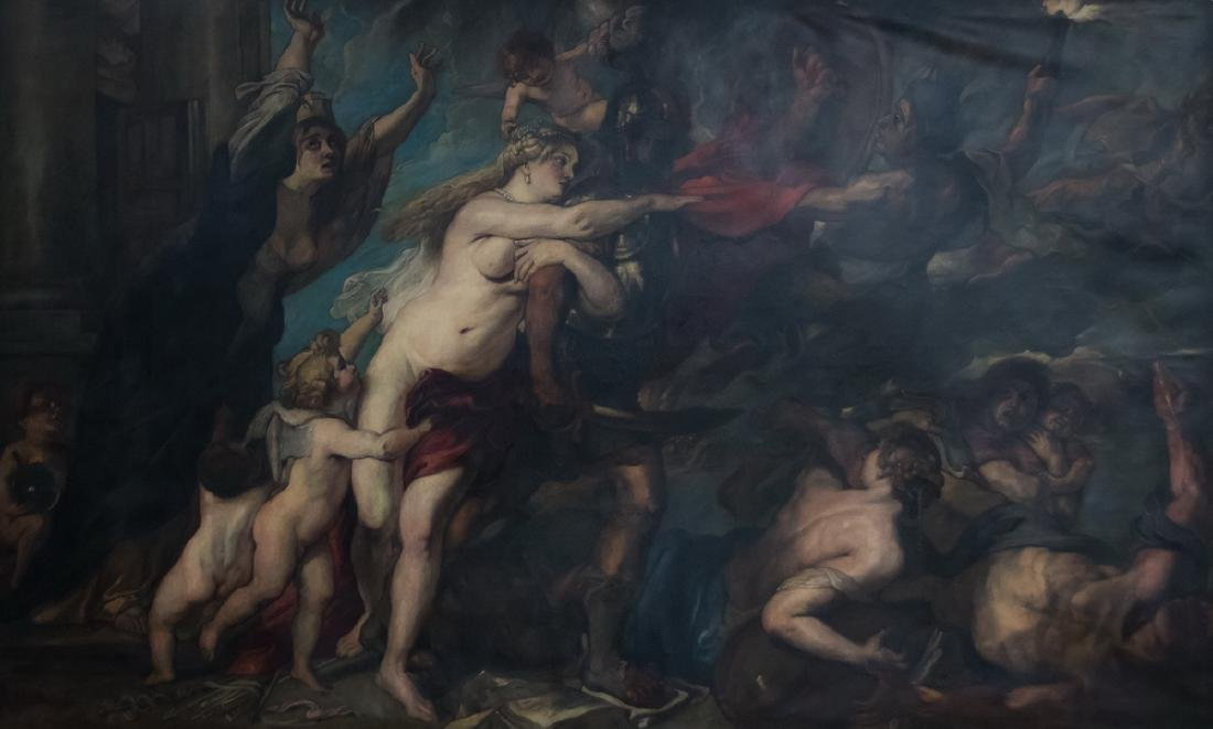 "AFTER PETER PAUL RUBENS: ""CONSEQUENCES OF WAR"""