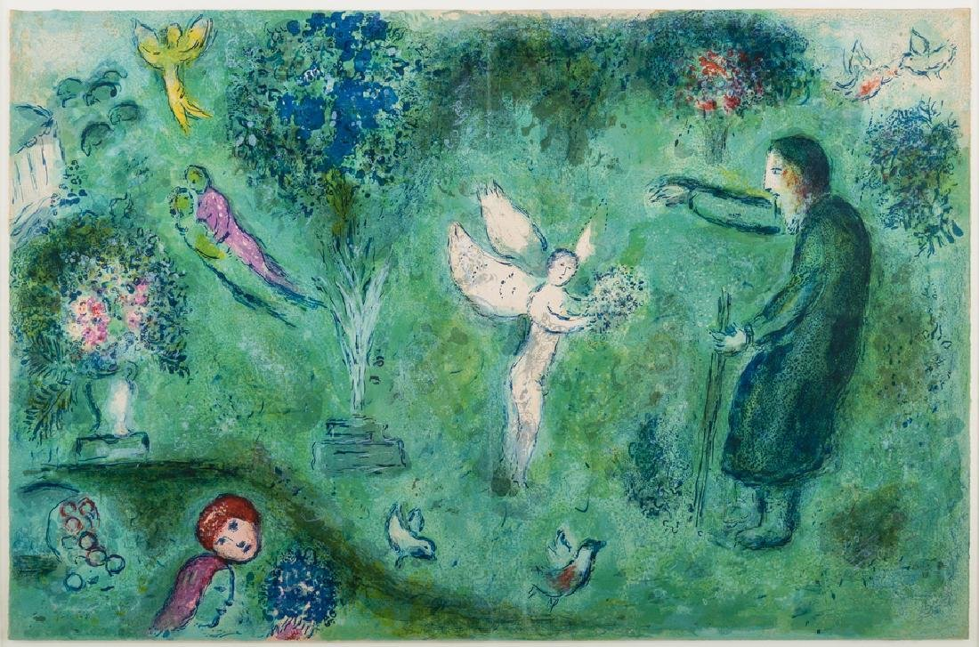 """MARC CHAGALL: """"LE VERGER"""""""