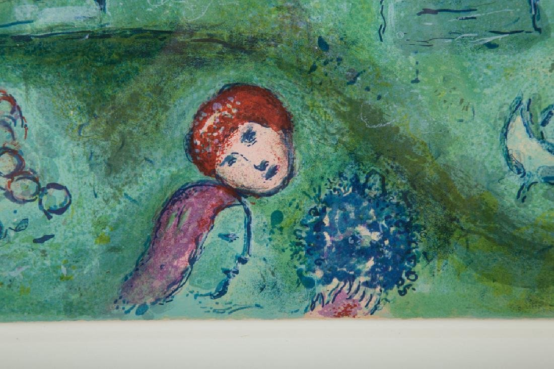 """MARC CHAGALL: """"LE VERGER"""" - 3"""
