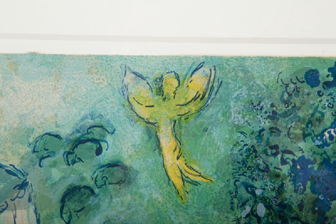 """MARC CHAGALL: """"LE VERGER"""" - 6"""