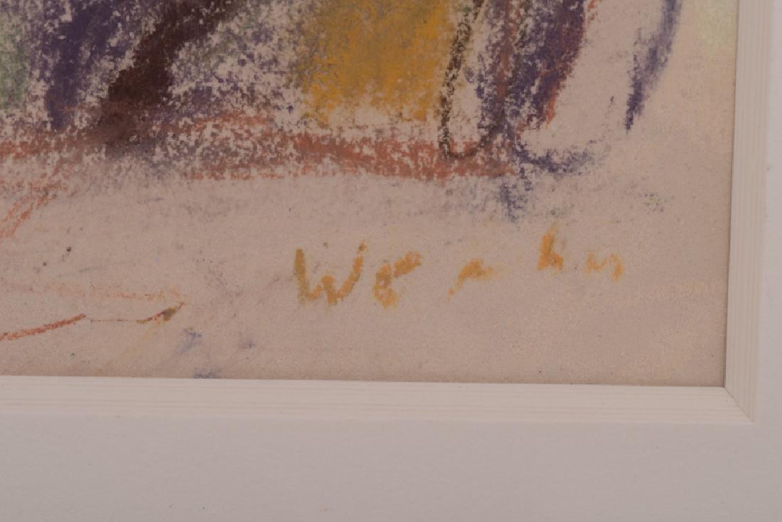 """WOLF KAHN: """"UNTITLED LANDSCAPE"""" - 8"""