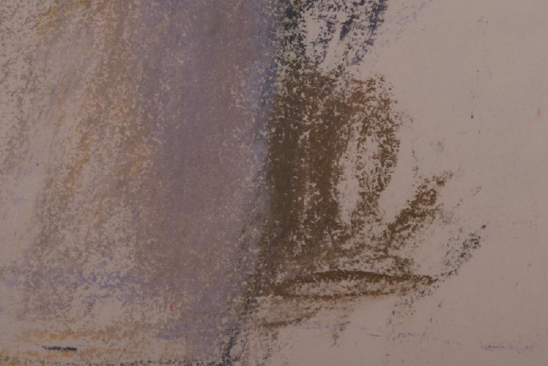 """WOLF KAHN: """"FLOWERS IN A VASE"""" - 3"""