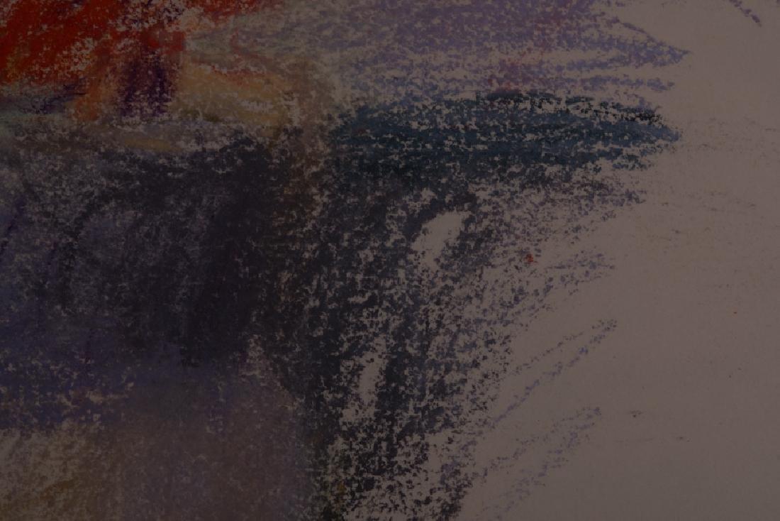"""WOLF KAHN: """"FLOWERS IN A VASE"""" - 4"""
