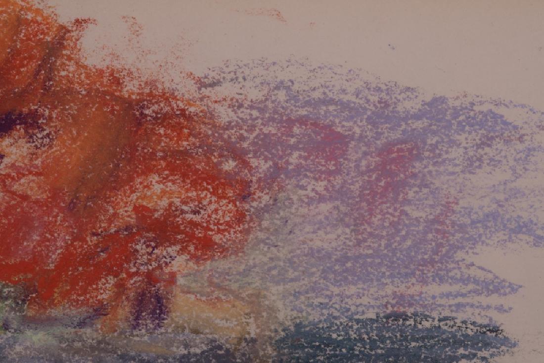 """WOLF KAHN: """"FLOWERS IN A VASE"""" - 5"""