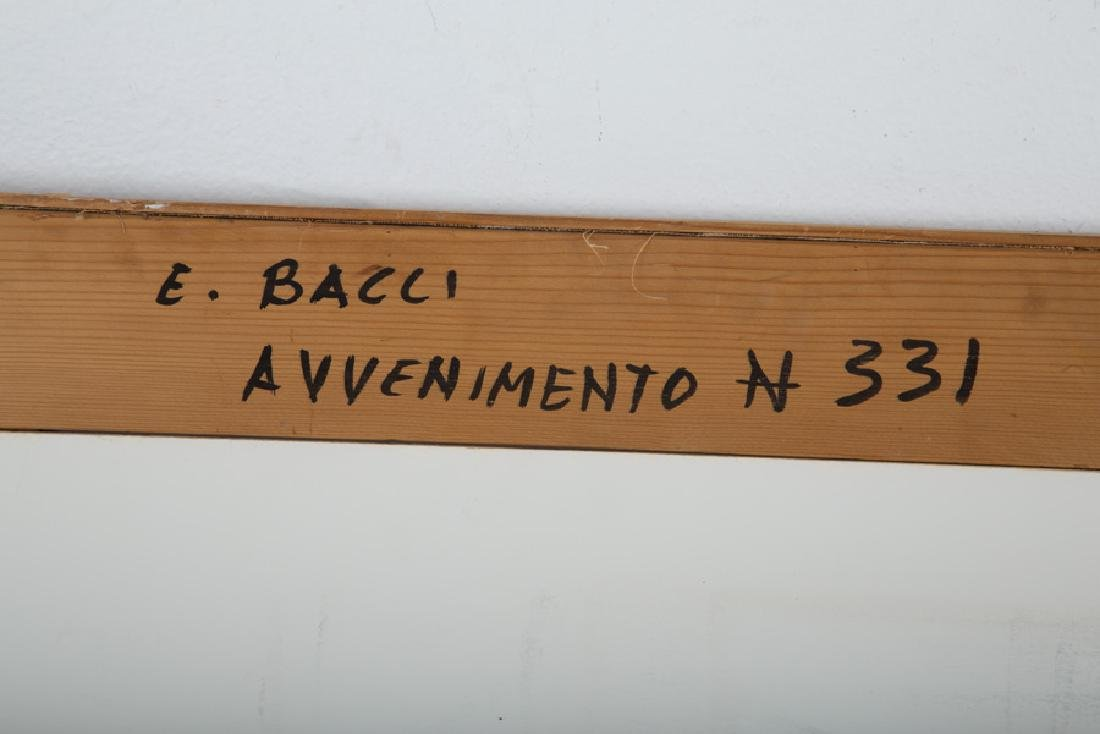 "EDMONDO BACCI: ""AVVENIMENTO 331"" - 8"