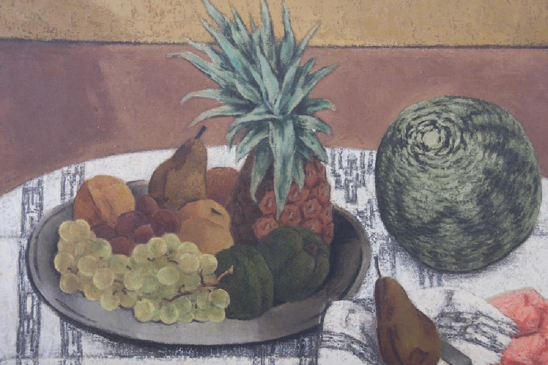 "RUSSELL COWLES: ""STILL LIFE WITH MELON"" - 2"