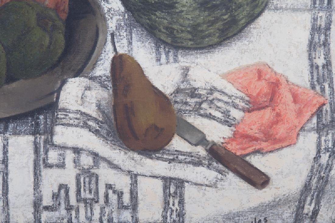 "RUSSELL COWLES: ""STILL LIFE WITH MELON"" - 3"