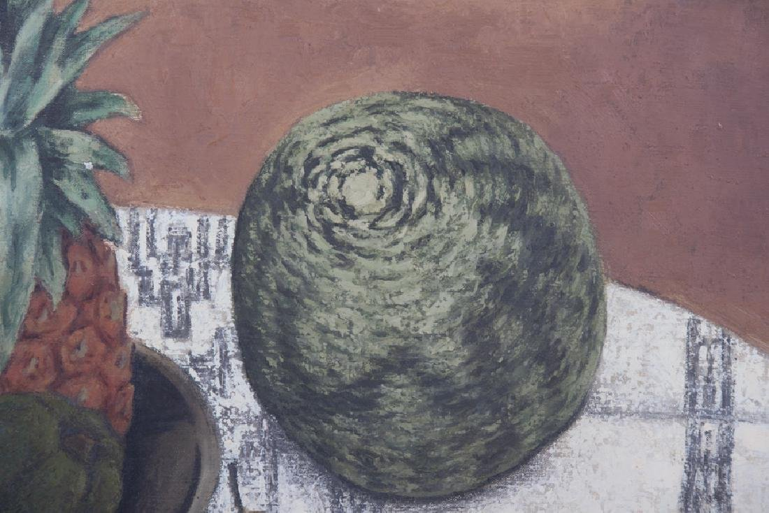 "RUSSELL COWLES: ""STILL LIFE WITH MELON"" - 4"