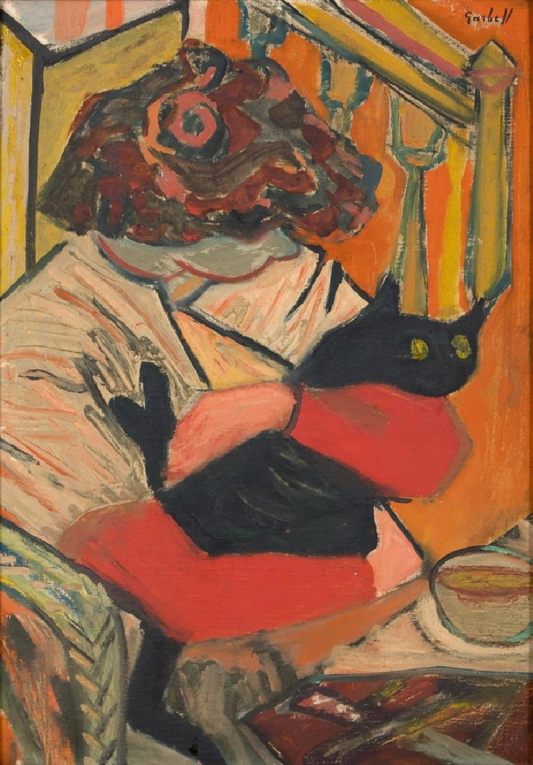 "ALEXANDRE GARBELL: ""WOMAN WITH CAT"""