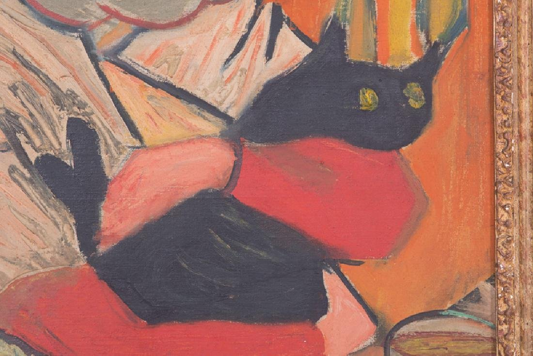 "ALEXANDRE GARBELL: ""WOMAN WITH CAT"" - 5"