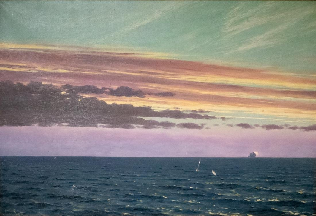 "WILLEM VAN DER DOES: ""SHIP ON THE HORIZON"""