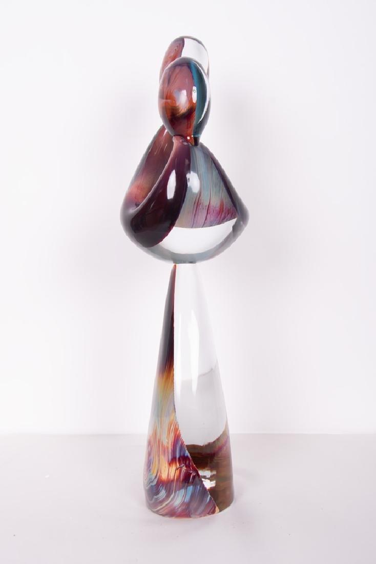 DINO ROSIN FOR MURANO: ART GLASS FIGURAL GROUP - 10