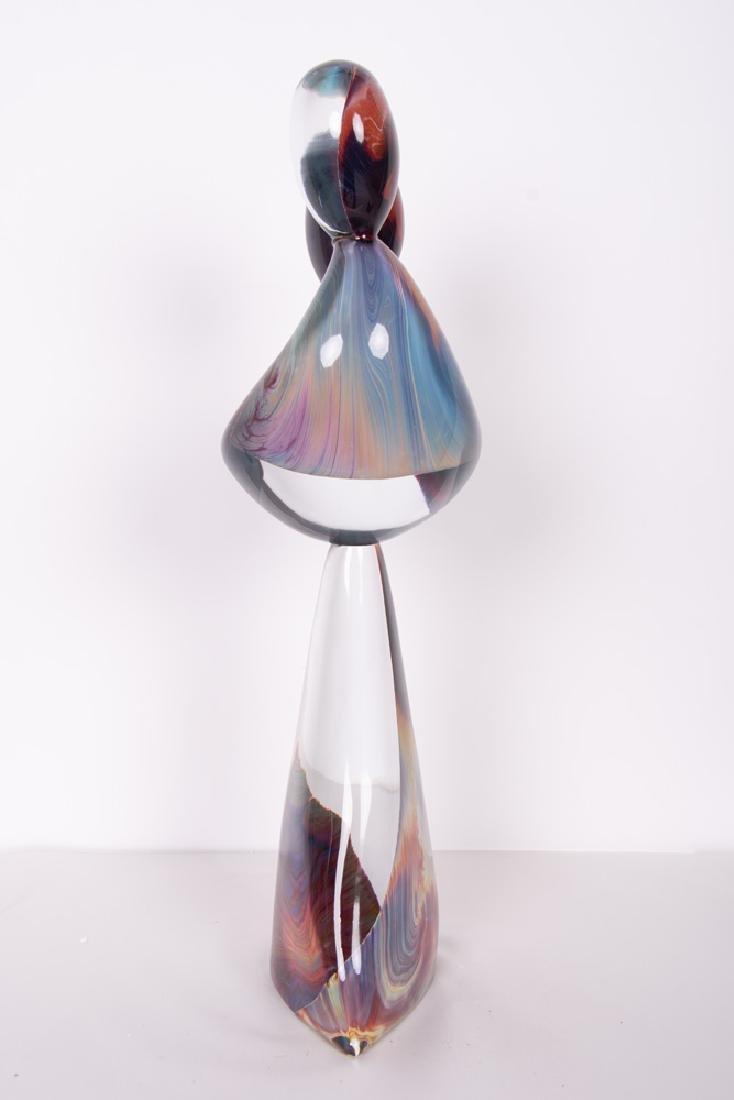 DINO ROSIN FOR MURANO: ART GLASS FIGURAL GROUP - 2