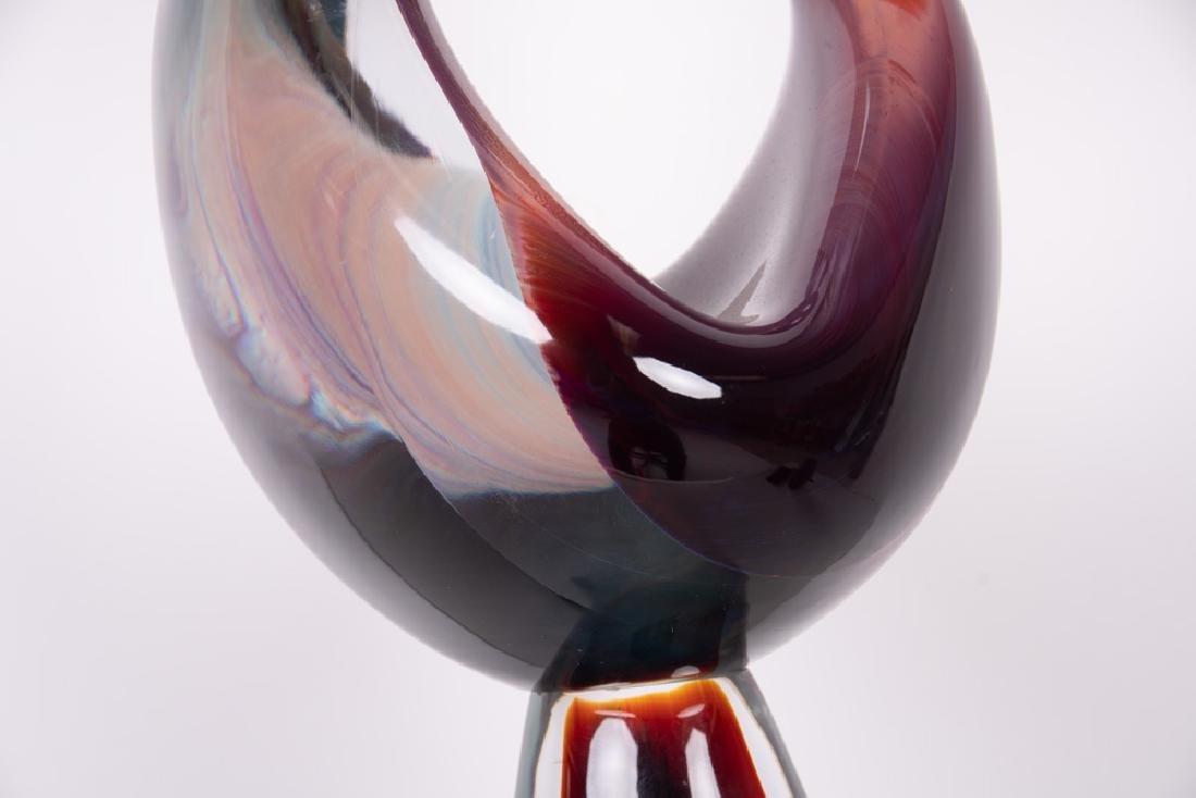 DINO ROSIN FOR MURANO: ART GLASS FIGURAL GROUP - 8