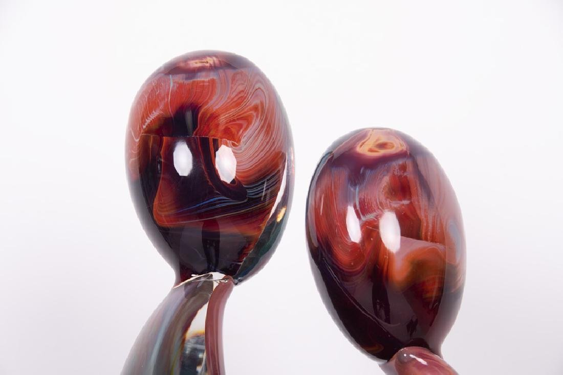 DINO ROSIN FOR MURANO: ART GLASS FIGURAL GROUP - 9