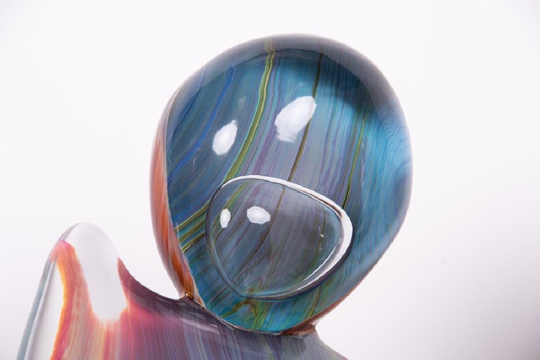 DINO ROSIN FOR MURANO: ART GLASS FIGURAL GROUP - 10