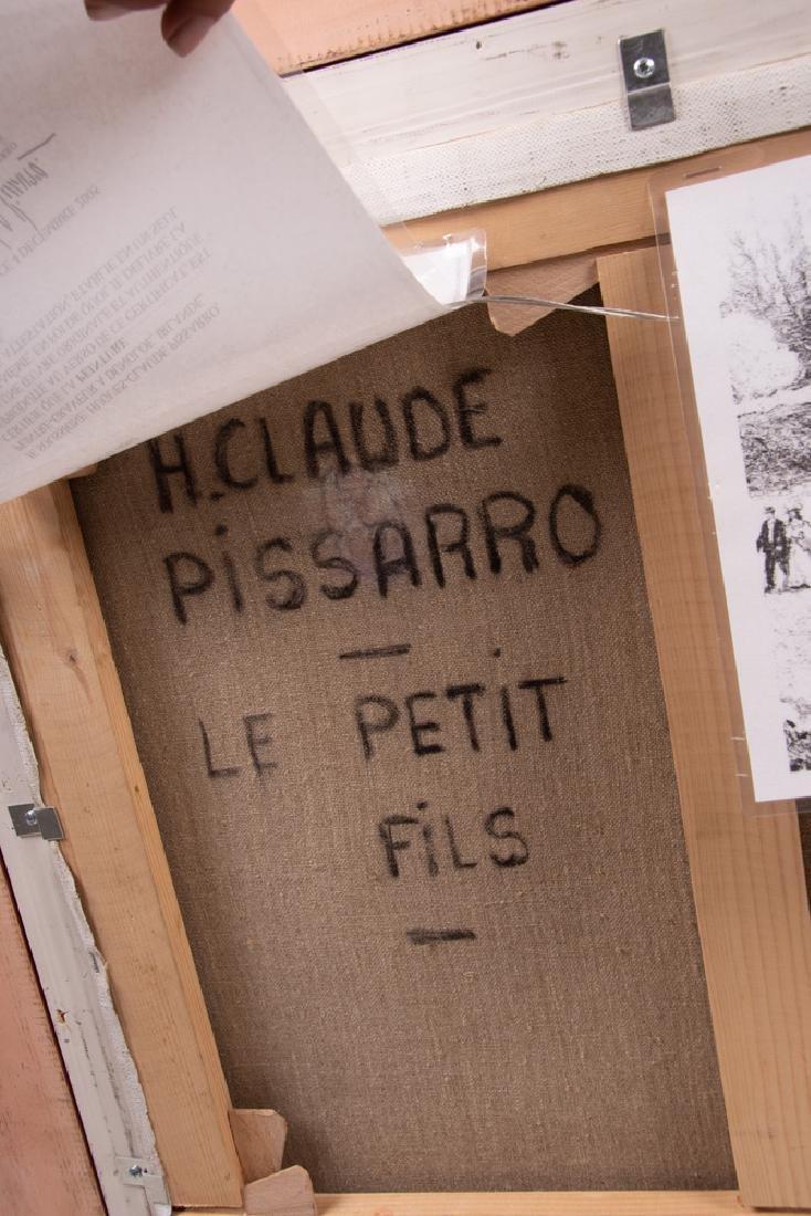 """CLAUDE PISSARRO: """"LE VIEUX PONT"""" - 3"""